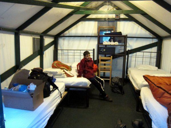 בתוך החדר/אוהל/סוכה