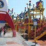 המשחקיה הרטובה בפארק יוניברסל סטודיוס
