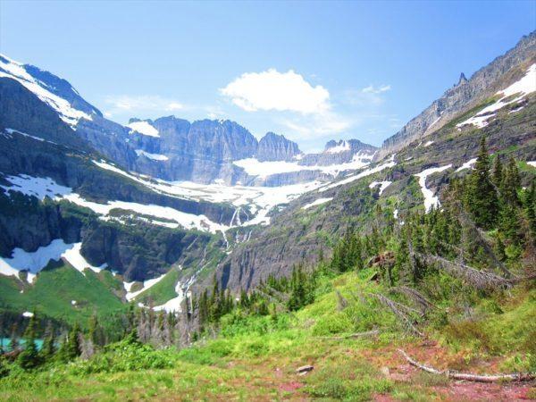 תכנית ביקור בפארק לאומי גליישר במונטנה