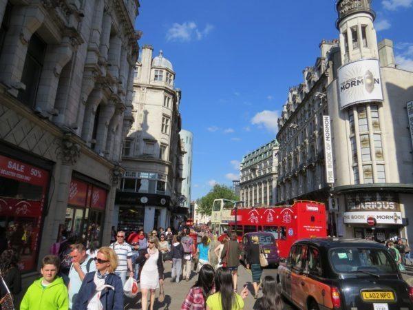 היום החמישי לטיול – לונדון